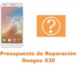Presupuesto de reparación Doogee X30