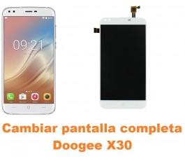 Cambiar pantalla completa Doogee X30