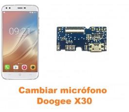 Cambiar micrófono Doogee X30
