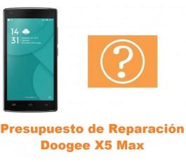 Presupuesto de reparación Doogee X5 Max