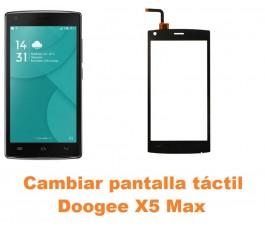 Cambiar pantalla táctil cristal Doogee X5 Max