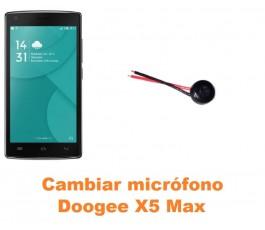 Cambiar micrófono Doogee X5 Max