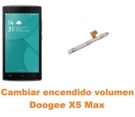 Cambiar encendido y volumen Doogee X5 Max