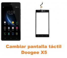 Cambiar pantalla táctil cristal Doogee X5