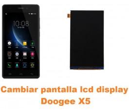 Cambiar pantalla lcd display Doogee X5