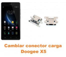 Cambiar conector carga Doogee X5