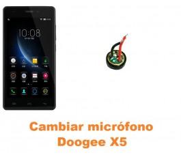 Cambiar micrófono Doogee X5