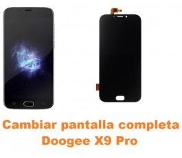 Cambiar pantalla completa Doogee X9 Pro