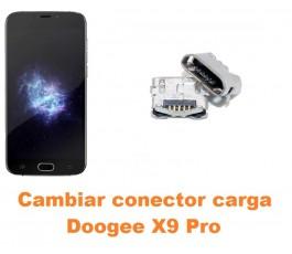 Cambiar conector carga Doogee X9 Pro