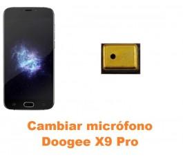 Cambiar micrófono Doogee X9 Pro