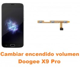 Cambiar encendido y volumen Doogee X9 Pro