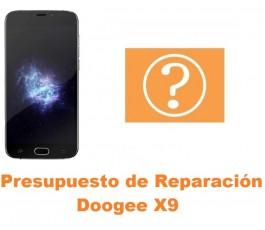 Presupuesto de reparación Doogee X9