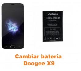 Cambiar batería Doogee X9