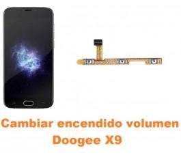 Cambiar encendido y volumen Doogee X9