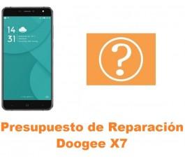 Presupuesto de reparación Doogee X7