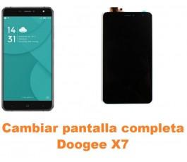 Cambiar pantalla completa Doogee X7