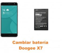 Cambiar batería Doogee X7