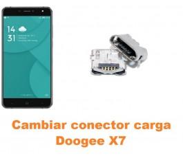 Cambiar conector carga Doogee X7