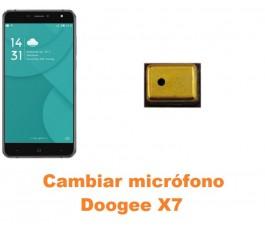 Cambiar micrófono Doogee X7