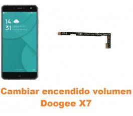 Cambiar encendido y volumen Doogee X7