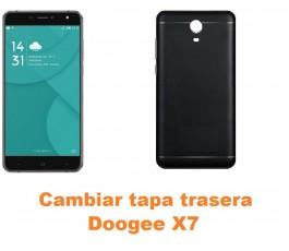 Cambiar tapa trasera Doogee X7