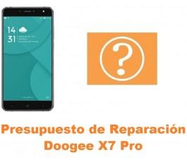 Presupuesto de reparación Doogee X7 Pro