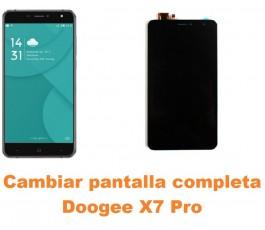 Cambiar pantalla completa Doogee X7 Pro
