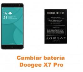 Cambiar batería Doogee X7 Pro