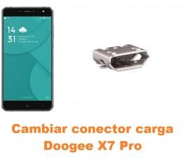 Cambiar conector carga Doogee X7 Pro