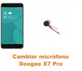 Cambiar micrófono Doogee X7 Pro