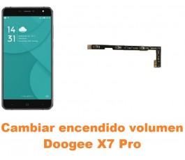 Cambiar encendido y volumen Doogee X7 Pro