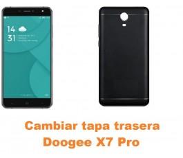 Cambiar tapa trasera Doogee X7 Pro