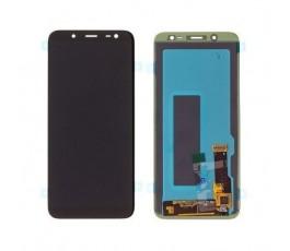 Pantalla completa lcd y táctil para Samsung J6 J600 negro