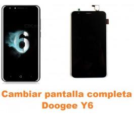 Cambiar pantalla completa Doogee Y6