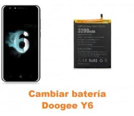 Cambiar batería Doogee Y6