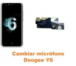 Cambiar micrófono Doogee Y6