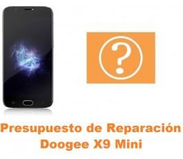 Presupuesto de reparación Doogee X9 Mini