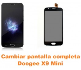 Cambiar pantalla completa Doogee X9 Mini