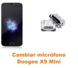 Cambiar micrófono Doogee X9 Mini
