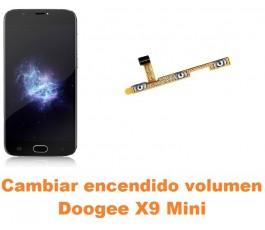 Cambiar encendido y volumen Doogee X9 Mini