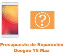 Presupuesto de reparación Doogee Y6 Max