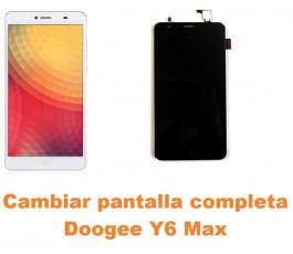 Cambiar pantalla completa Doogee Y6 Max
