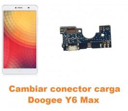 Cambiar conector carga Doogee Y6 Max
