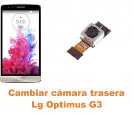 Cambiar cámara trasera Lg Optimus G3 D855