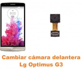 Cambiar cámara delantera Lg Optimus G3 D855