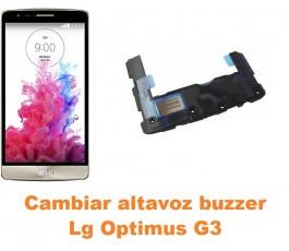Cambiar altavoz buzzer Lg Optimus G3 D855