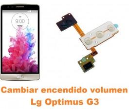 Cambiar encendido y volumen Lg Optimus G3 D855