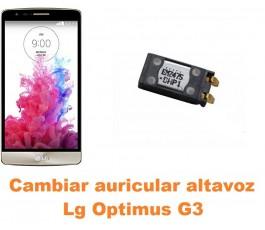 Cambiar auricular altavoz Lg Optimus G3 D855