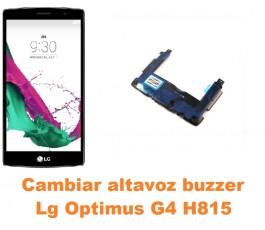 Cambiar altavoz buzzer Lg Optimus G4 H815