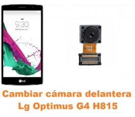 Cambiar cámara delantera Lg Optimus G4 H815